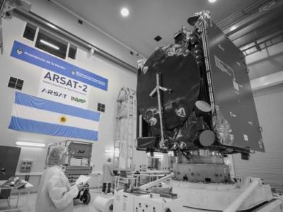 Argentina lanza el ARSAT-2