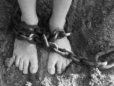 pies de esclavo
